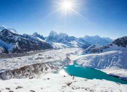 Everest region glaciers to disappear