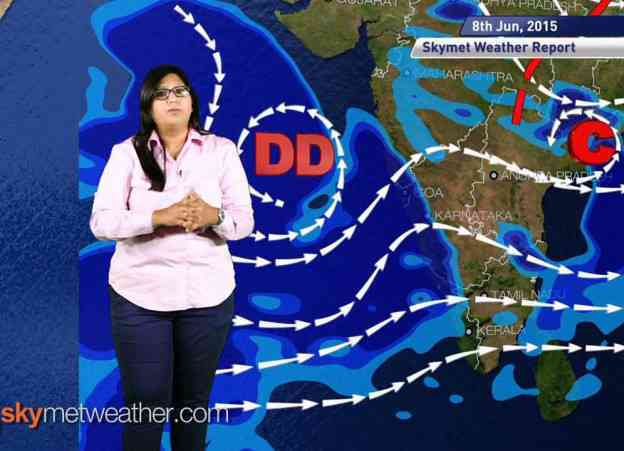 08_06_2015 - Skymet weather report