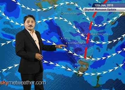 12-06-2015 - Skymet weather report