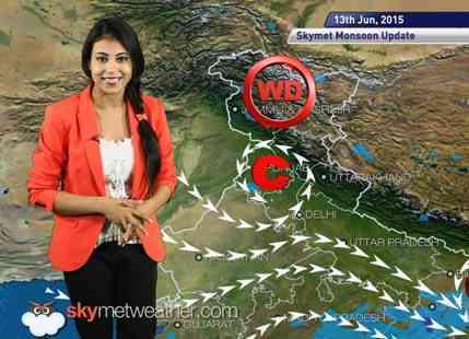 13-06-2015 - Skymet weather report