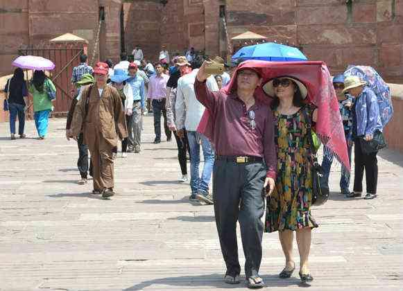 Agra summer