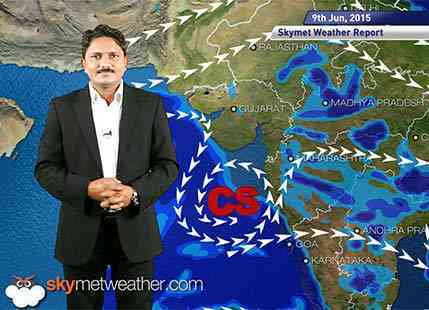 Hindi National Weather Video Report For 09-06-2015
