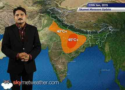 Hindi National Weather Video Report For 11-06-2015