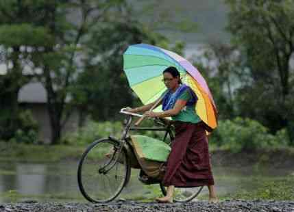 Rain in Manipur