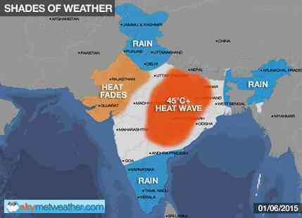 Heatwave abates from North and West India