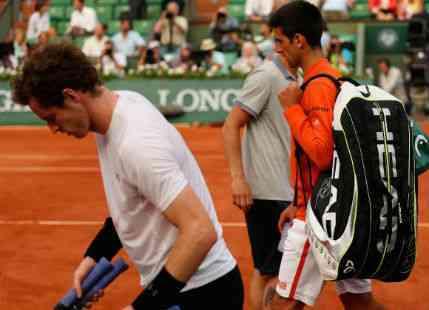 Storm Halts Murray-Djokovic Semi Final Clash