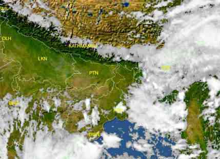Much awaited Southwest Monsoon covers Northeast India