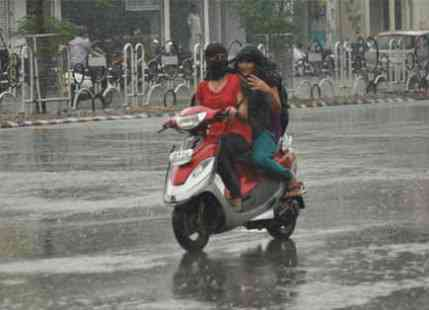 More rain in East India