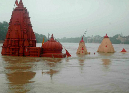 Flood in Madhya Pradesh and Rajasthan