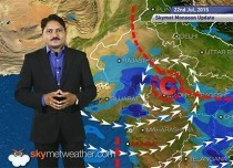 Hindi National Weather Video Report For 22-07-2015