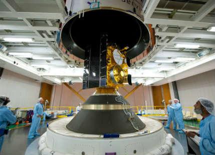 INSAT 3D weather satellite two years in orbit