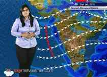 21 July, 2015 Monsoon Updates - Skymet Weather