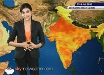 23 July, 2015 Monsoon Update: Skymet Weather
