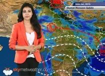 30 July, 2015 Monsoon Update: Skymet Weather