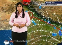 01 August, 2015 Monsoon Update: Skymet Weather