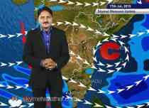 [Hindi] National Weather Video Report For 17-07-2015