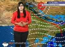 14 July, 2015 Monsoon Update: Skymet Weather