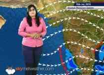 15 July, 2015 Monsoon Update: Skymet Weather