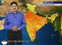 [Hindi] National Weather Video Report For 24-07-2015