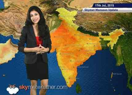 17 July, 2015 Monsoon Update: Skymet Weather