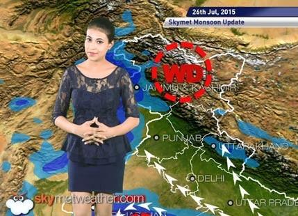 26 July, 2015 Monsoon Updates Skymet Weather
