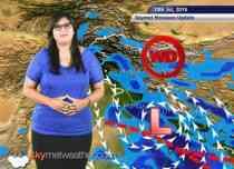 13 July, 2015 Monsoon Updates Skymet Weather