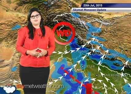 20 July, 2015 Monsoon Updates Skymet Weather