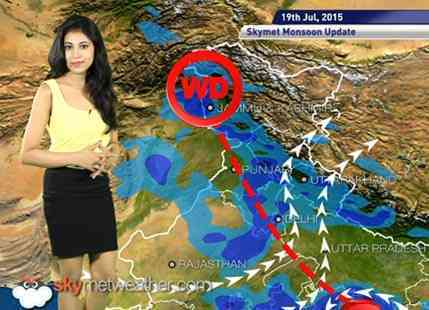 19 July, 2015 Monsoon Updates Skymet Weather