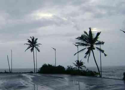 coastal India rain
