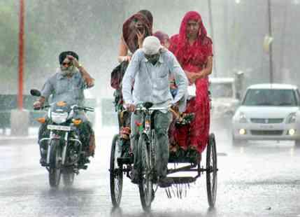 Punjab, Haryana and North Rajasthan receive good Monsoon Rains