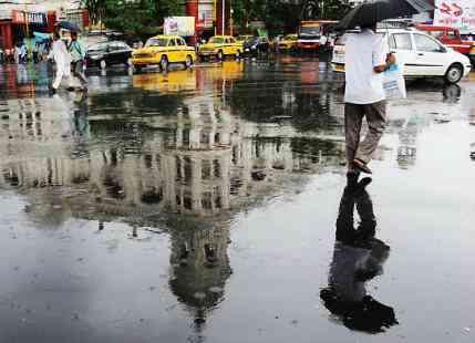 kolkata rain