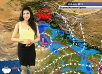 02 August, 2015 Monsoon Updates - Skymet Weather