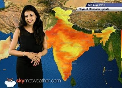 05 August, 2015 Monsoon Update: Skymet Weather