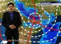 04 August, 2015 Monsoon Updates - Skymet Weather HINDI