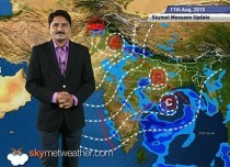 Hindi National Weather Video Report For 11-08-2015