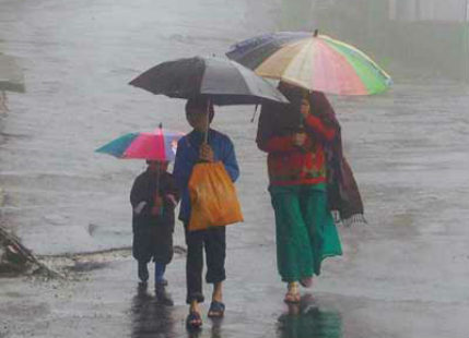 Heavy rainfall observed in pockets across the country