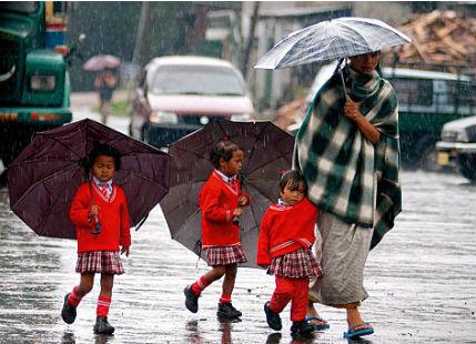 Rain in Northeast India (2)