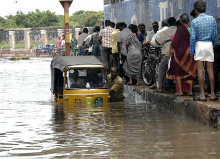 Rain in Tamil Nadu