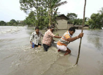 Assam battered by floods again, no relief likely