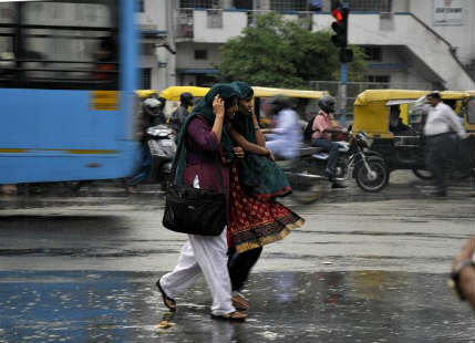Bangalore receives good rain, reaches close to its monthly average
