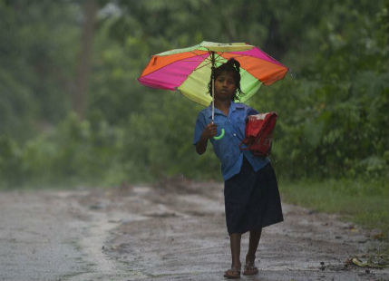 Rainfall intensity to reduce over Northeast India