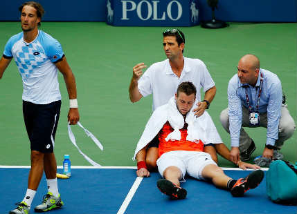 US Open Injuries