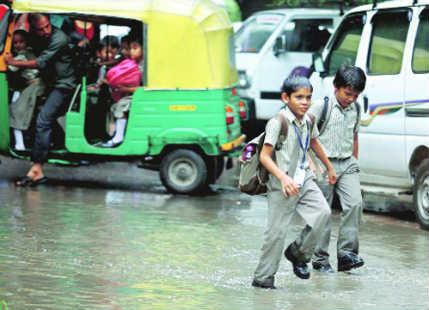 Baroda rain