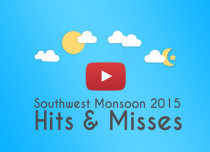 Hits and misses of Monsoon 2015