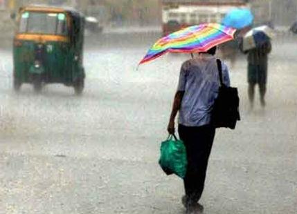 Rain in Nellore