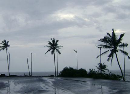 West Coast rains