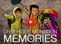 CHILDHOOD MONSOON MEMORIES