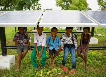 Dharnai Village Solar Power