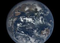NASA stunning camera captures low pressure areas in the Indian Ocean