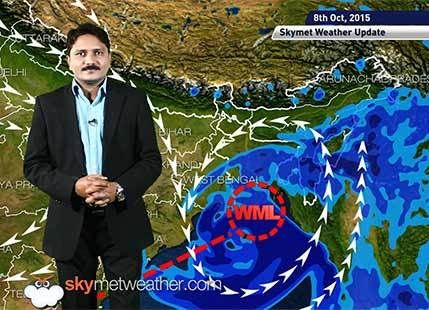 [Hindi] Weather Forecast for October 08, 2015: Skymet Weather